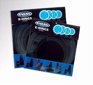 """Kit Anel Abafador Evans E-Ring Fusion 10"""" 12"""" 14"""" 14"""" ER-FSN"""