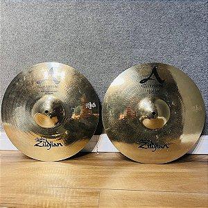 "Prato Zildjian A Custom Hi Hat 14"""