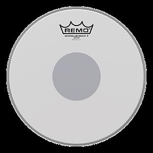 """Pele Remo CS Controlled Sound X Porosa  p/ Caixa 14"""""""