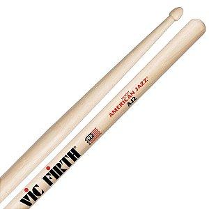 Baqueta Vic Firth American Jazz AJ2 Padrão 7A