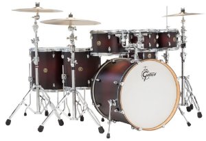 Bateria Gretsch Catalina Maple SDCB 22'' 8'' 10'' 12''14'' 16'' + Caixa 14x6,5'' - Shell Pack