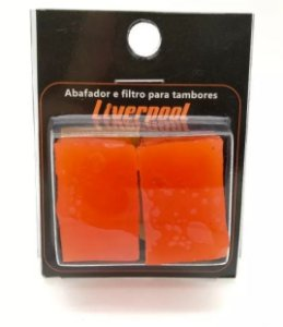 Gel Abafador e Filtro para Tambor Liverpool