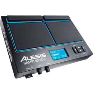 Pad de Percussão Eletrônico Alesis Sample Pad 4