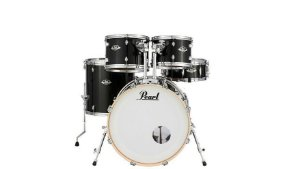 "Bateria Pearl Export EXX Jet Black 20"" 10"" 12"" 14"" + Caixa 14x5,5"" Shellpack"