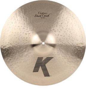 Prato Zildjian K Custom Dark Crash 19""