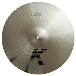 Prato Zildjian K Custom Dark Crash 20""