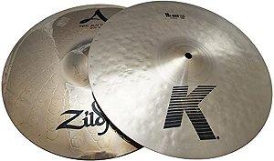 "Prato Zildjian K/Z Hi Hat 13"""