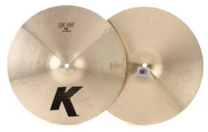 Prato Zildjian K Light Hi Hat 14""
