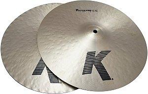 """Prato Zildjian K Mastersound Hi Hat 14"""""""