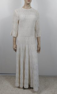 Christian Dior - Vestido longo renda