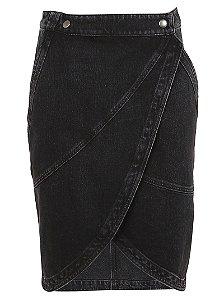 Givenchy - Saia jeans midi