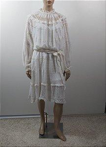 Zimmermann  - Vestido off white