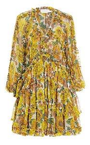 Zimmermann - Vestido floral estampado
