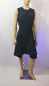 Christian Dior - Vestido mescla la