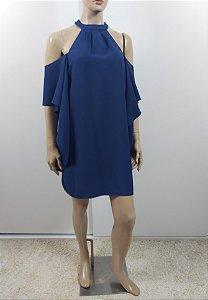 Talienk - Vestido curto em crepe