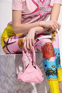 Givenchy Bolsa Ballet em couro liso