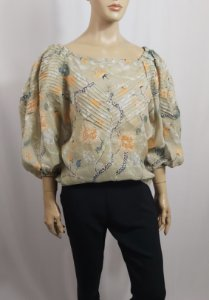 Chloé - Blusa estampada