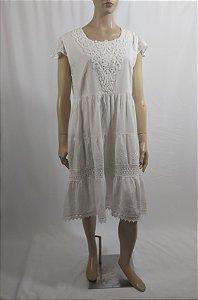 Natura - Vestido algodão branco