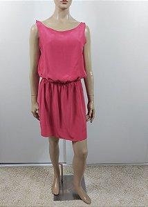 Trettiore - Vestido curto em seda