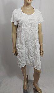 New Collection - Vestido com frente bordada
