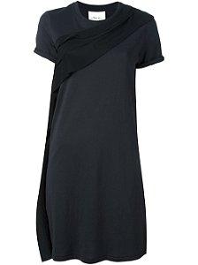 3.1 Phillip Lim - Vestido malha/Seda