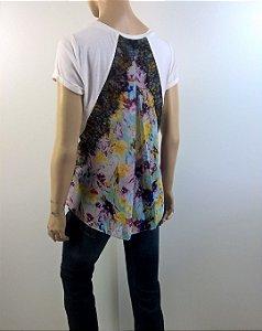 Sachin + Babi -Camiseta costas floral