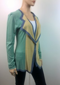 Roland Mouret - Cardigan color block