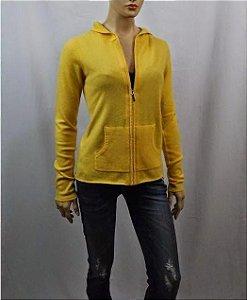 Daslu - Cardigan Cashmere amarelo