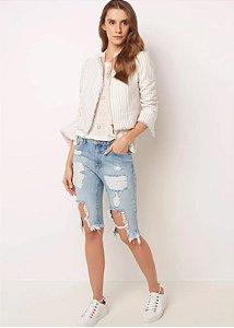 Le Lis Blanc - Bermuda jeans estonada