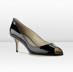 Jimmy Choo - Peep toe pumps