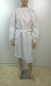 zimmermann - vestido bordado ingles
