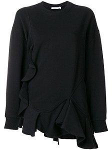 Givenchy - Blusa moleton babados