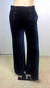 Emilio Pucci - Calça Pantalona veludo