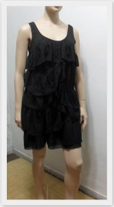 MM COUTURE BY MISS ME (USA) - Vestido cristais