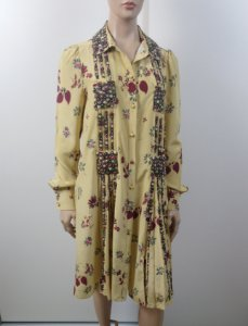 Valentino - Vestido manga longa bordado