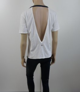 Bo.Bo - Blusa off white decote