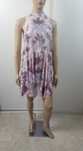 Free People - Vestido estampa