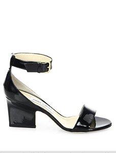 Jimmy Choo - Edina Patent Leather Ankle-Strap Sandals