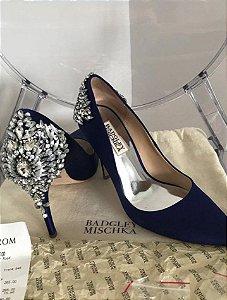 Badgley Mischka - Scarpin azul