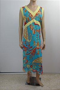Kazuo Arimoto Noritake - Vestido estampado (G)