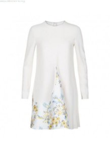 Stella McCartney - Floral Print Long Sleeve Dress