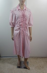 Simone Rocha - Striped Frill Front Shirt Dress
