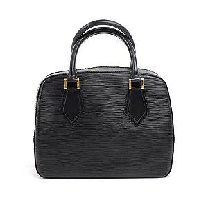 Vintage Louis Vuitton Sablon Black Epi Leather Hand Bag