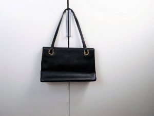 Ferragamo - leather tote bag