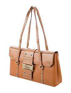 Christian Dior - Logo flap leather street chic shoulder handbag