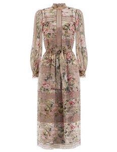 Zimmermann - Floral print lace dress