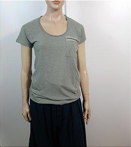 Bo.Bô - T-Shirt verde exercito