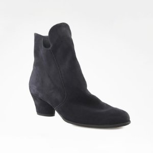 Arche - Leather Ankle Boots - Navy