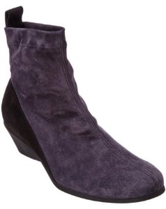 Arche - Gray Olam Suede Bootie