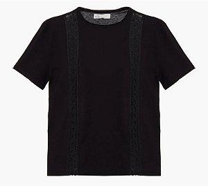 Talienk - Camiseta Luciana - Preta